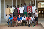 Teaching staff at the Loreto Primary School in Rumbek, South Sudan. The school is run by the Institute for the Blessed Virgin Mary--the Loreto Sisters--of Ireland.