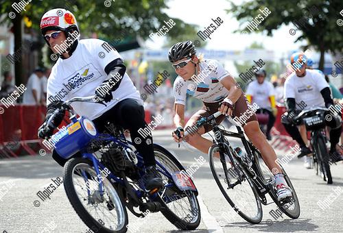 2012-08-13 / Wielrennen / seizoen 2012 / Derny's Wilrijk /  Kristof Goddaert..Foto: Mpics.be
