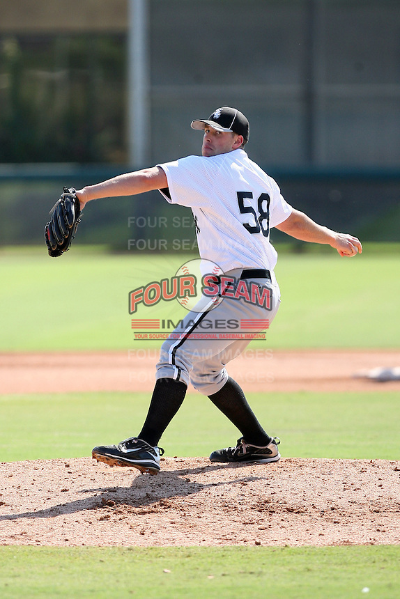 Dylan Axelrod - Chicago White Sox - 2010 Instructional League.Photo by:  Bill Mitchell/Four Seam Images..