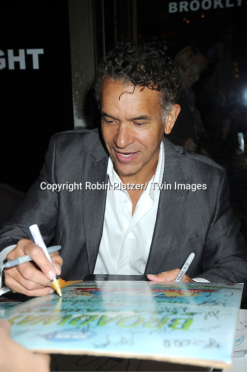 Brian Stokes Mitchell attends the 26th Annual Broadway Flea Market and Grand Auction benefitting Broadway Cares/ Equity Fights Aids on September 23, 2012 at the Shubert Theatre in New York City.