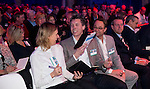 UTRECHT - Nationaal Golf Congres en Beurs 2017. NVG  motto: Like to Play & Love to stay. Renate Roeleveld, Jelle Paauw, Dirk-Jan Vink, Jeroen Stevens (NGF directeur), Paul Wessel  FOTO © Koen Suyk