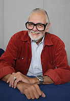 GEORGE A. ROMERO<br /> Collectormania 12 at the Middleton Hall Centre, Milton Keynes, England, October 27th 2007.<br /> half length sitting A glasses red jacket <br /> CAP/ROS<br /> &copy;Steve Ross/Capital Pictures /MediaPunch ***NORTH AND SOUTH AMERICAS ONLY***