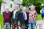 Former Chef Jimmy Sugrue at the official opening of Killarney House on Monday l-r: Michael Leane, Corneilius O'Donoghue, Jimmy Sugrue and Sheila O'Donoghue