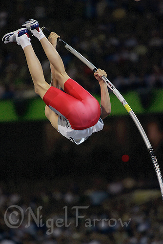 24 MAR 2006 - MELBOURNE, AUSTRALIA - Steven Lewis (ENG) - Pole vault - Commonwealth Games '06. (PHOTO (C) NIGEL FARROW)