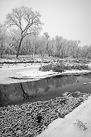 La Salle River in winter<br />