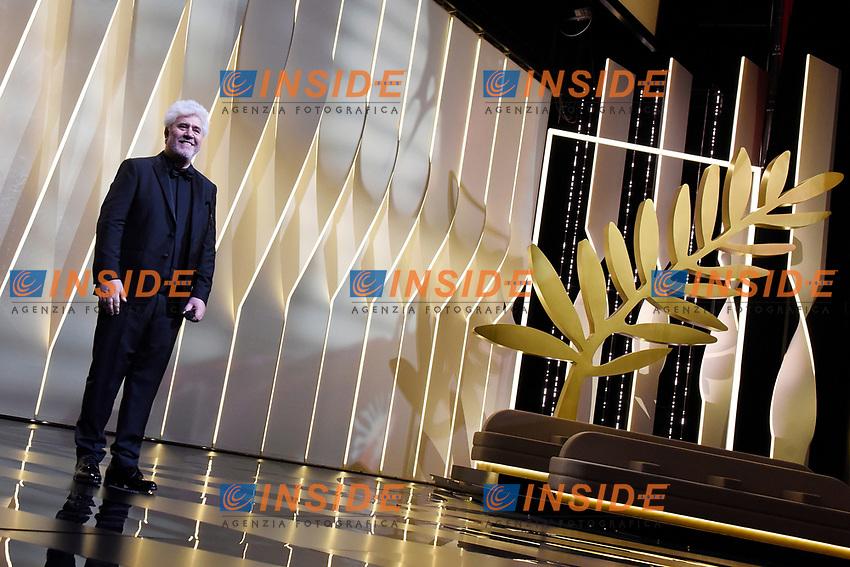 Pedro Almodovar<br /> Cannes 17-05-2017 70&deg;Edizione Festival del Cinema di Cannes. Cerimonia d'apertura<br /> Foto Panoramic / Insidefoto