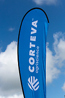 Corteva corporate logo<br /> &copy;Tim Scrivener Photographer 07850 303986<br /> ....Covering Agriculture In The UK....