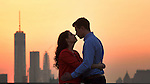 Brooklyn Grange, New York Engagement Portraits