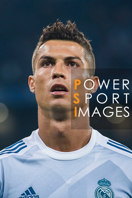 Cristiano Ronaldo of Real Madrid in training prior the La Liga 2017-18 match between Real Madrid and Real Betis at Estadio Santiago Bernabeu on 20 September 2017 in Madrid, Spain. Photo by Diego Gonzalez / Power Sport Images
