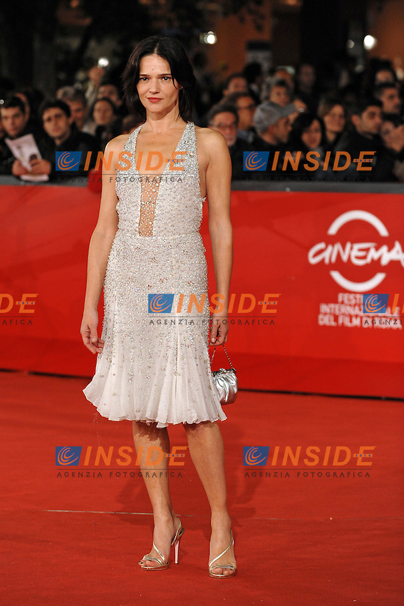 Chiara Caselli<br /> Third edition of the Rome International film festival<br /> Roma 26/10/2008 <br /> Red Carpet  'Il Passato e' una terra straniera&quot;<br /> Photo Andrea Staccioli Insidefoto