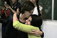 RECIFE, PE, 01.04.2019: POLÍTICA-RECIFE - Ex candidata a vice presidência Manuela D'Avila faz lançamento de seu livro e sessão de autógrafos na Universidade Católica de Pernambuco (UNICAP) nesta segunda-feira (01). (Foto: Rafael Vieira/Codigo19)