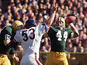 Green Bay Packers Donny Anderson (44) during a game from his 1967 season with the Green Bay Packers. Donny Anderson played for 9 season with 2 different teams and was a 1-time Pro Bowler.(SportPics)