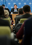 Security Council President Briefs Press on Programme of Work for January