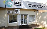 FOZ DO IGUAÇU, PR - 27.03.2020 – CORONAVIRUS-PR – Imagem do laboratório do Centro de Medicina Tropical (CMT) do Hospital Ministro Costa Cavalcanti na manhã desta sexta-feira (27) em Foz do Iguaçu (PR). O laboratório deverá estar habilitado a fazer testes rápidos para detectar o novo coronavírus. O teste rápido (PCR Real Time) permite diagnosticar ou descartar a covid-19 em menos de 24 horas.(Foto: Paulo Lisboa/Brazil Photo Press)