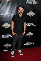 LOS ANGELES - SEP 18:  Wilmer Valderrama at the Universal Studio's Halloween Horror Nights 2014 Eyegore Award at Universal Studios on September 18, 2014 in Los Angeles, CA