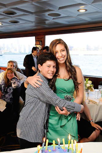 East River and Hudson River Bar Mitzvah River cruise. A fun boat party.