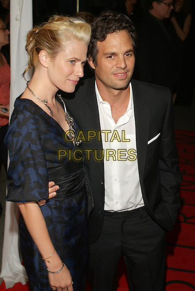 "SUNRISE COIGNEY & MARK RUFFALO.At ""All The Kings Men"" Press Premiere during the 2006 Toronto International Film Festival held at Roy Thomson Hall, Toronto, Ontario, Canada,10 September 2006..half length.Ref: ADM/BP.www.capitalpictures.com.sales@capitalpictures.com.©Brent Perniac/AdMedia/Capital Pictures."