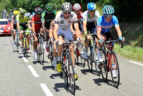 22.07.2014. Carcassonne to Bagnères-de-Luchon, France. Tour de France cycling championship, stage 16.   VACHON Florian (FRA - BRETAGNE SECHE ENVIRONNEMENT)