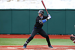 21 February 2015: Duke's Justin Bellinger. The Duke University Blue Devils hosted the University of Hartford Hawks in an NCAA Division I Men's baseball game at Jack Coombs Field in Durham, North Carolina. Duke won the game 5-1.