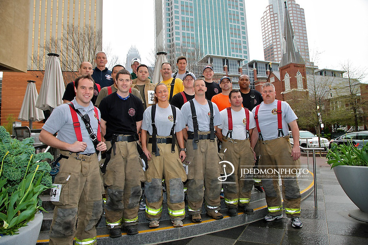 Stair Climb fund raiser