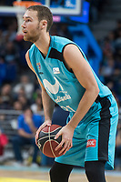 Movistar Estudiantes Alex Brown during Liga Endesa match between Movistar Estudiantes and Montakit Fuenlabrada at Wizink Center in Madrid, Spain. November 12, 2017. (ALTERPHOTOS/Borja B.Hojas) /NortePhoto.com
