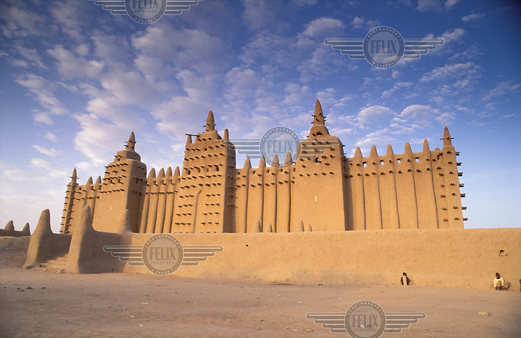 © Marcus Rose / Panos Pictures..Djenné, MALI..The Grand Mosque..