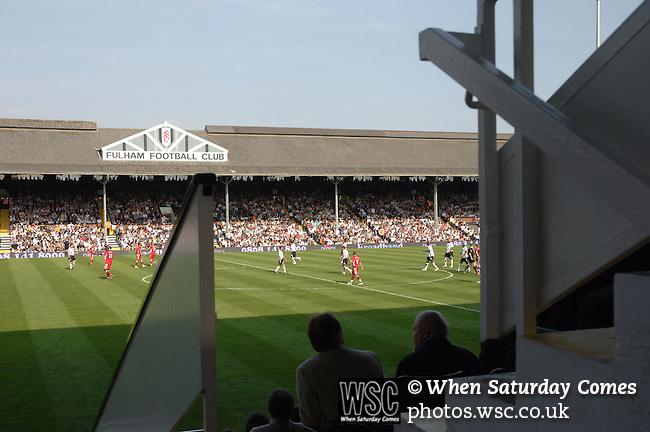 Fulham 1 Blackburn Rovers 1, 21/04/2007. Craven Cottage, Premier League. Photo by Simon Gill.
