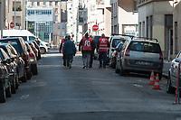 LE DEPART DE LA MANIFESTATION INTERSYNDICALE DE LA FONCTION PUBLIQUE