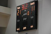 Basketball Scoreboard, High School, Game