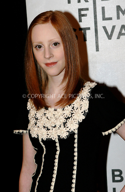 WWW.ACEPIXS.COM . . . . .  ....April 23 2011, New York City....Samantha Weinstein arriving at the premiere of 'Jesus Henry Christ' during the 2011 Tribeca Film Festival at BMCC Tribeca PAC on April 23, 2011 in New York City.....Please byline: NANCY RIVERA- ACEPIXS.COM.... *** ***..Ace Pictures, Inc:  ..Tel: 646 769 0430..e-mail: info@acepixs.com..web: http://www.acepixs.com