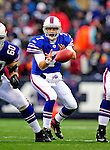 30 November 2008: Buffalo Bills' quarterback J.P. Losman bobbles a snap in the third quarter against the San Francisco 49ers at Ralph Wilson Stadium in Orchard Park, NY. The 49ers defeated the Bills 10-3. ***** Editorial Use Only ******..Mandatory Photo Credit: Ed Wolfstein Photo