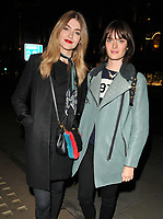Eve Delf and Sam Rollinson at the Danielle Copperman's &quot;Well Being&quot;  book launch party, Lululemon, Regent Street, London, England, UK, on Thursday 11 January 2018.<br /> CAP/CAN<br /> &copy;CAN/Capital Pictures