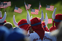 American Marshals during Saturday's Fourballs, at the Ryder Cup, Le Golf National, Île-de-France, France. 29/09/2018.<br /> Picture David Lloyd / Golffile.ie<br /> <br /> All photo usage must carry mandatory copyright credit (© Golffile | David Lloyd)