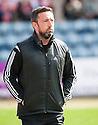 Aberdeen manager Derek McInnes at the start of the game.