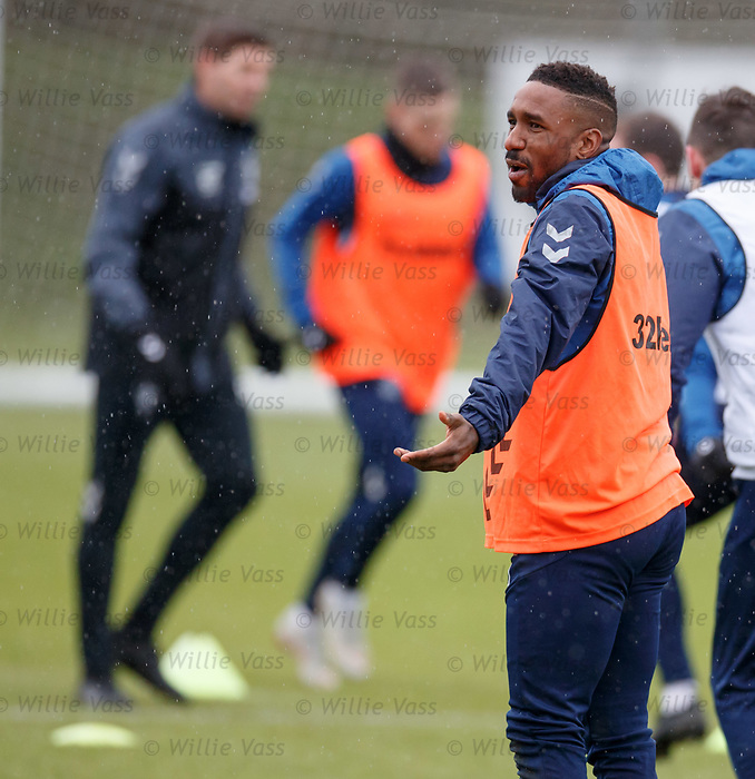 05.02.2019: Rangers training: Jermain Defoe