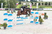 Czech Equestrian Masters 2017, held at Equitana Martinice. Horse jumping competiton. The Czech Republic, Europe