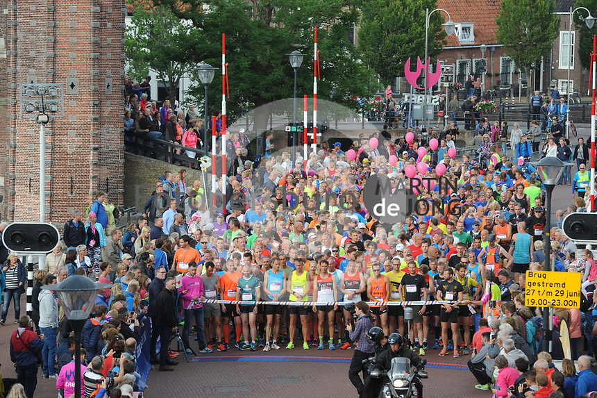ATLETIEK: SNEEK: 24-06-2017, Mar-athon, winnaar Jan Venhuizen, 02:35:32 uur, ©foto Martin de Jong