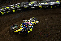 SX1 / Daniel Herrlein<br /> Monster Energy Aus-XOpen<br /> Supercross &amp; FMX International<br /> Qudos Bank Arena, Olympic Park NSW<br /> Sydney AUS Sunday 12  November 2017. <br /> &copy; Sport the library / Jeff Crow