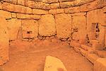 Mnajdra neolithic megalithic prehistoric temple complex site, Malta