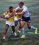 GFI East Africans vs Irish Vikings during the 2015 GFI HKFC Tens at the Hong Kong Football Club on 25 March 2015 in Hong Kong, China. Photo by Xaume Olleros / Power Sport Images