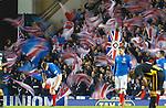 Rangers fans.