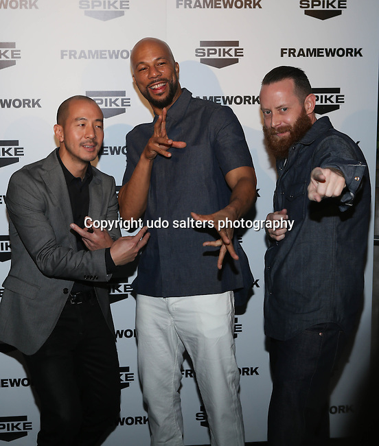 """Spike TV and Common for a toast to celebrate the new series and a sneak peek of the first-ever furniture design competition show, """"Framework"""" during the world's premiere international art show for modern and contemporary works at Art Basel. """"Framework,"""" a new original non-scripted franchise, will showcase the nation's best emerging furniture designers as they compete for a $100,000 cash prize and the opportunity for their work to be sold by a major manufacturer."""