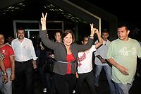PA - ELEIÇÕES 2010/DEBATE/PA - POLÍTICA - ATENÇÃO, EDITOR: FOTO EMBARGADA PARA VEÍCULOS DO ESTADO DO PARÁ. A governadora do Pará e candidata à reeleição, Ana Júlia Carepa (PT), em noite de debate promovido pela Rede Record de Televisão, no Centro de Convenções Hangar, em Belém (PA), nesta segunda-feira.  <br />  <br /> Foto: TARSO SARRAF/AE/AE