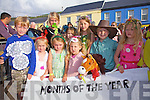 Taking part in the Childrens Fancy Dress at the Celtic Music Festival in Cahersiveen on Friday last were front l-r; Ciaren Edworthy, Orla Edworthy, Emma Looney, Ruby Cracknell, Ben Cracknell, Sophie King, back l-r; Aoife Looney, Tessa O'Sullivan & Lara King.