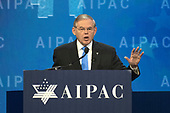 United States Senator Robert Menendez (Democrat of New Jersey) speaks at the American Israel Public Affairs Committee (AIPAC) 2018 Policy Conference at the Washington Convention Center in Washington, DC on Tuesday, March 6, 2018.<br /> Credit: Ron Sachs / CNP
