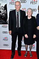 "LOS ANGELES, USA. November 21, 2019: G. Watson Bryant Jr. & Barbara ""Bobi"" Jewell at the world premiere for ""Richard Jewell"" as part of the AFI Fest 2019 at the TCL Chinese Theatre.<br /> Picture: Paul Smith/Featureflash"