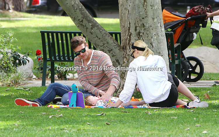 Pictured: Jaime King, Kyle Newman, James<br /> Mandatory Credit &copy; ACLA/Broadimage<br /> Jessica Alba and Jaime King enjoying the day at Coldwater Canyon Park<br /> <br /> 3/29/14, Beverly Hills, California, United States of America<br /> <br /> Broadimage Newswire<br /> Los Angeles 1+  (310) 301-1027<br /> New York      1+  (646) 827-9134<br /> sales@broadimage.com<br /> http://www.broadimage.com