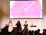 Maria Rizzo, Awa Sal Secka and Erin Driscool perform at the 2017 Sondheim Award Gala at the Italian Embassy on March 20, 2017 in Washington, D.C..