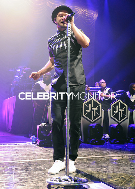 NEW YORK CITY, NY, USA - JULY 10: Justin Timberlake performs during an exclusive NYC performance with Citi / AAdvantage & MasterCard Priceless Access at Hammerstein Ballroom on July 10, 2014 in New York City, New York, United States. (Photo by Celebrity Monitor)