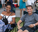 Danielle and Eric Musselman during Pops on the River at Wingfield Park in Reno, Nevada on Saturday, July 14, 2018.